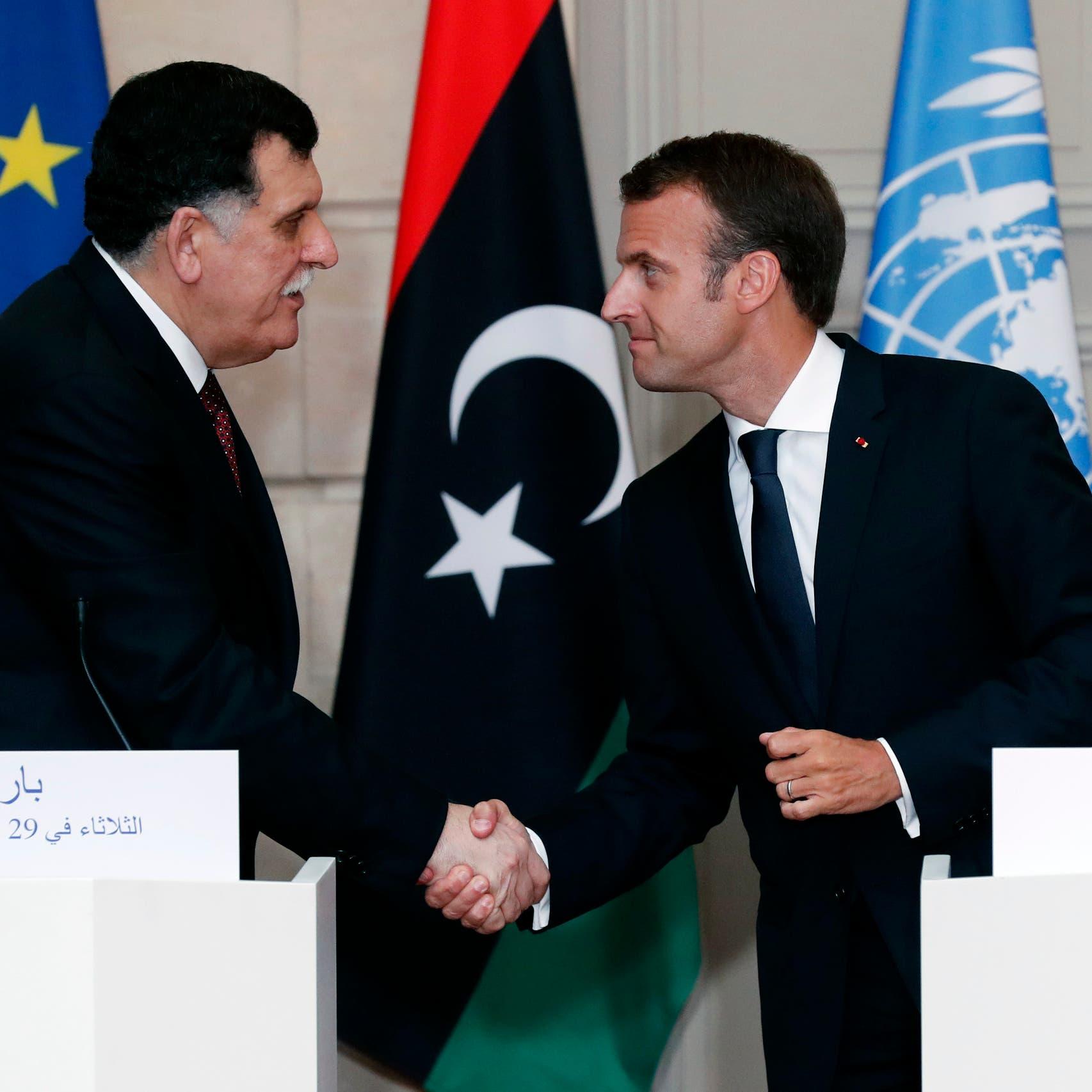 حكومة الوفاق: السراج تلقى دعوة من ماكرون لزيارة باريس