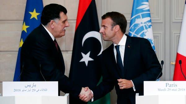 حكومة الوفاق: ماكرون يوجه دعوة للسراج لزيارة باريس