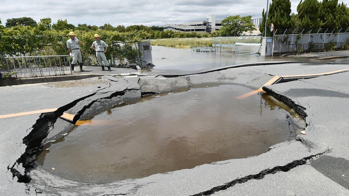 زلزال اوزاكا - اليابان