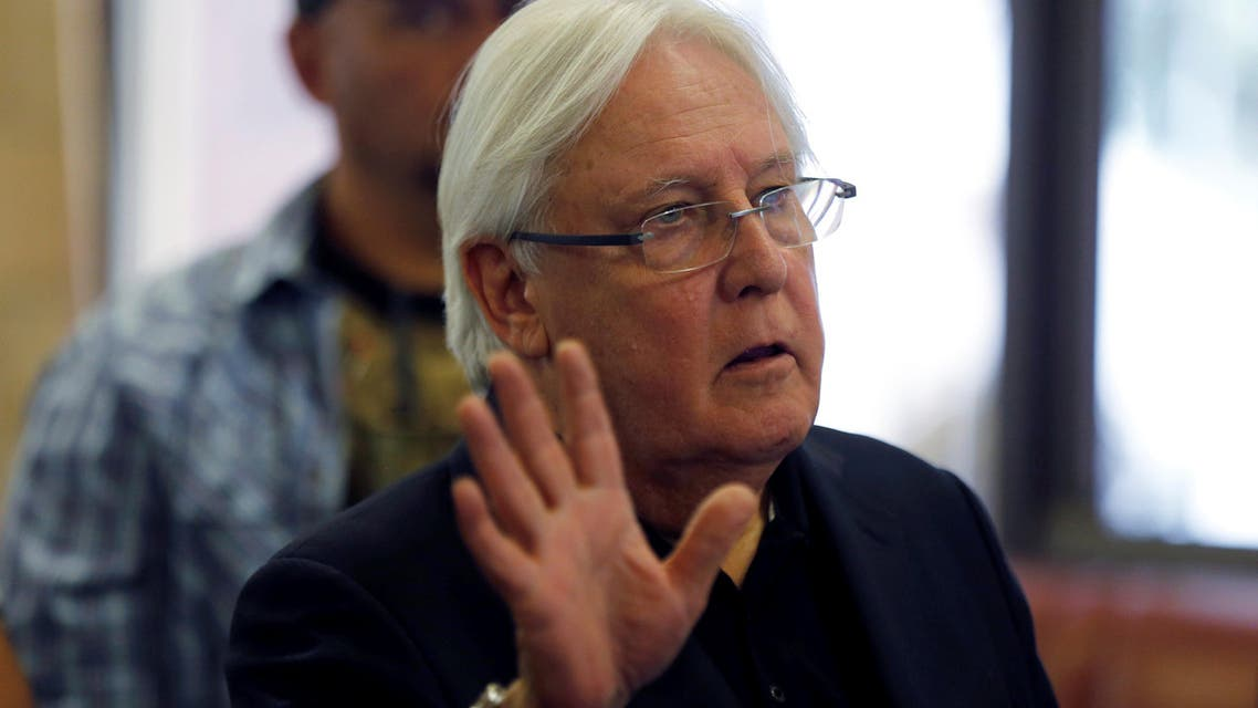 Martin Griffiths will attend the meeting to inform the council members of the details of his comprehensive plan for peace in Yemen. (Reuters)