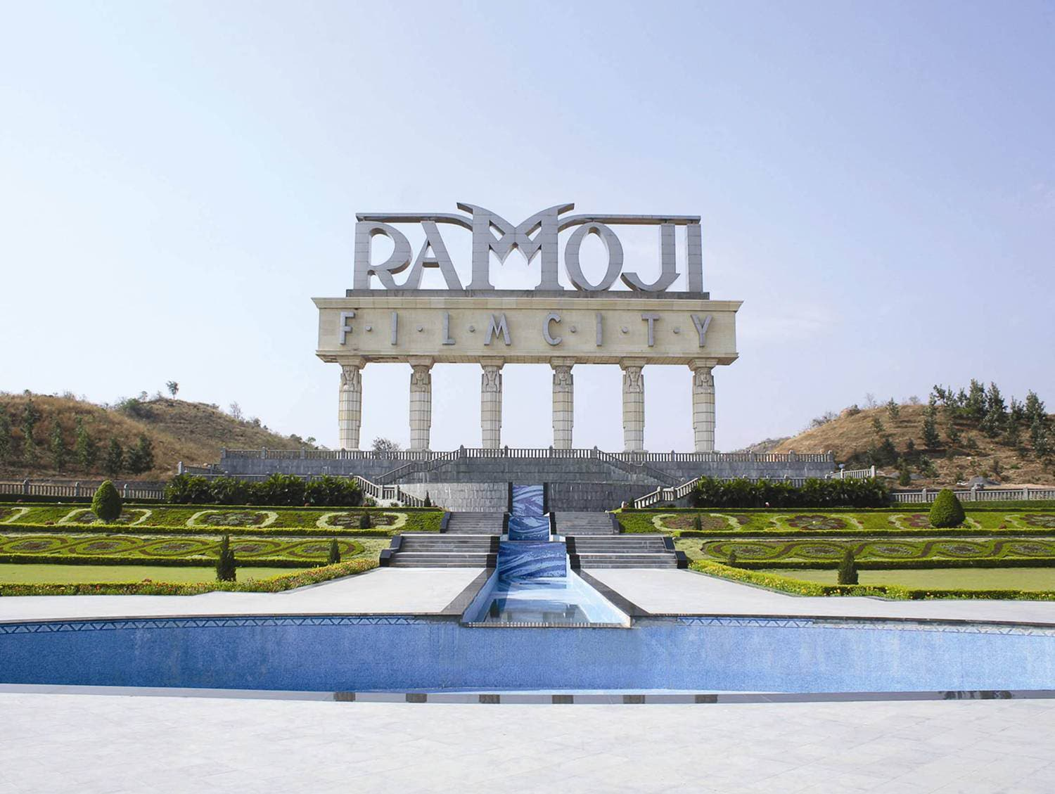 Ramoji is located at a distance of 30 km from the city of Hyderabad. (Supplied)