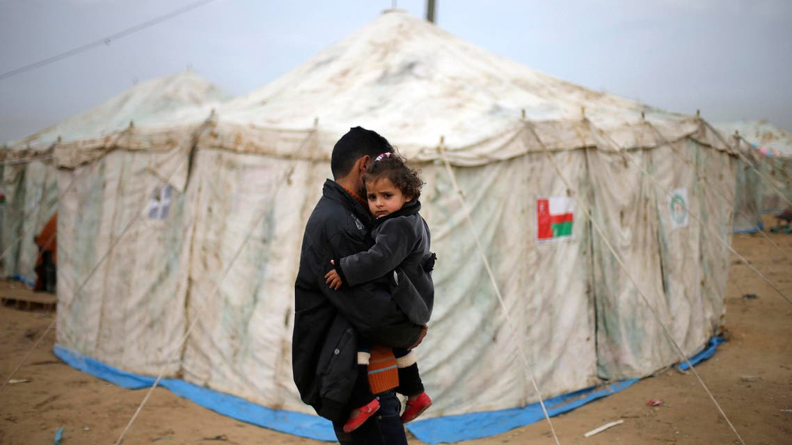 Gaza refugee camp. (Reuters)