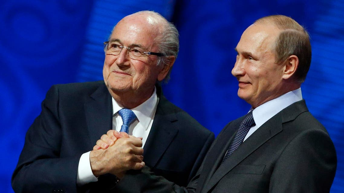 Blatter is currently serving a six-year ban for unethical conduct. (Reuters)