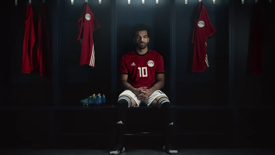 """Salah then also reposted the same video onto his Twitter page with the caption """"Ready for tomorrow."""" (Screengrab)"""