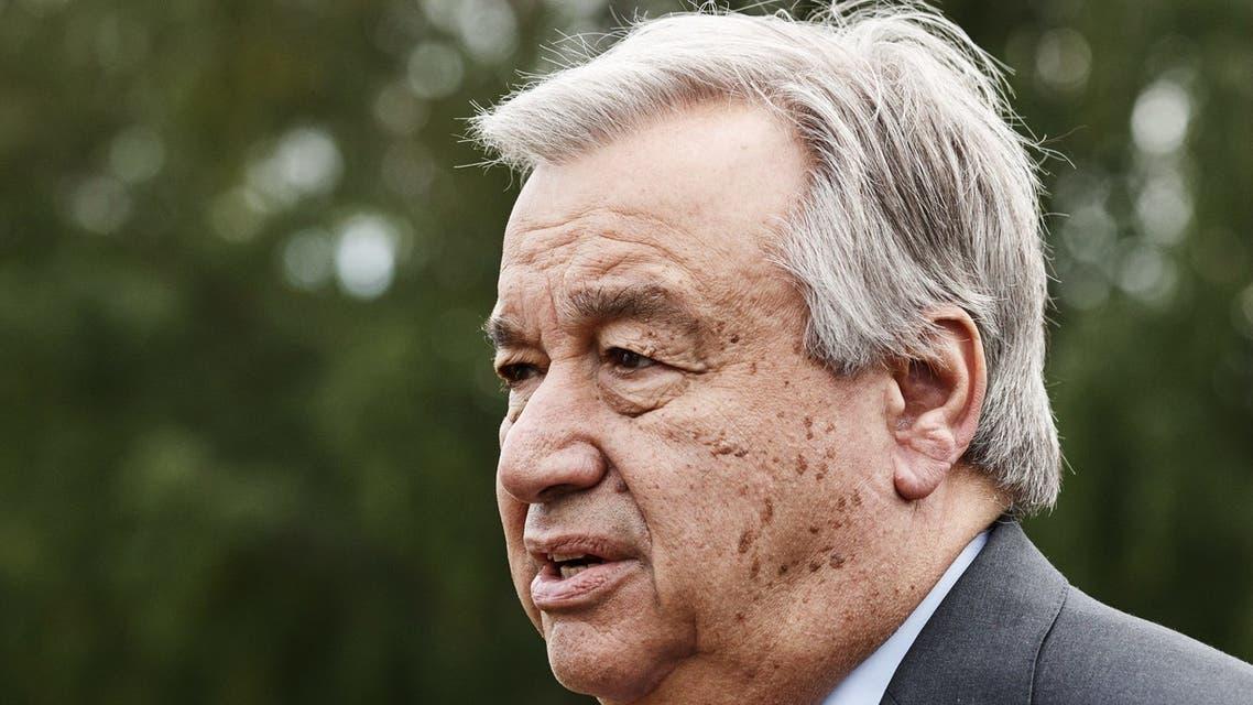 الأمين العام للامم المتحدة أنطونيو غوتيريس
