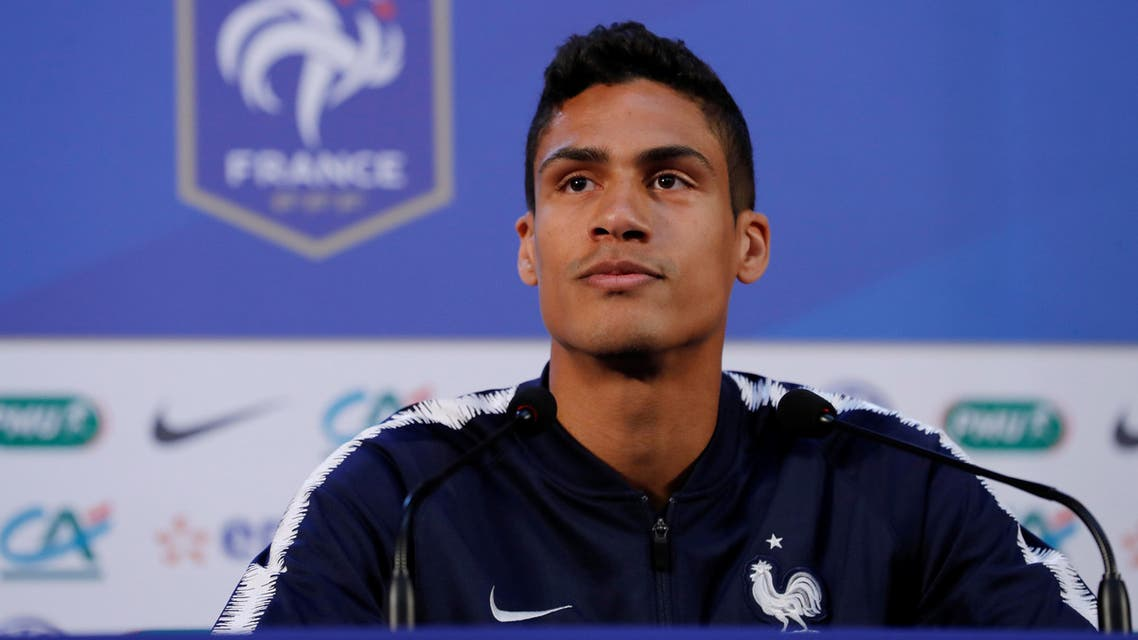 """""""We're still at the start of the competition,"""" Varane said. (Reuters)"""