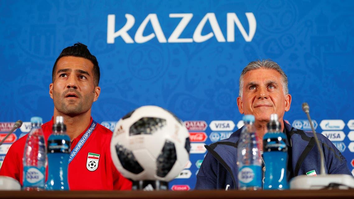 Iran football player Masoud Shojaei. (Reuters)