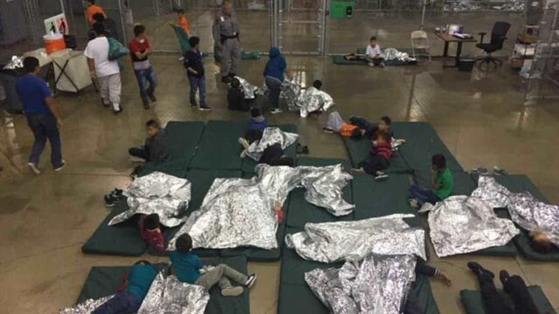 مراكز احتجاز مهاجرين في الولايات المتحدة
