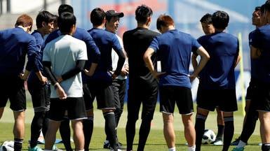 زلزال اليابان يؤرق اللاعبين قبل مواجهة كولومبيا