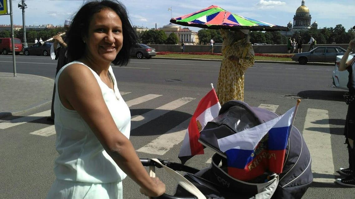 Lamiaa, an Egyptian, who is married to Sergei, a Russian. (Supplied)