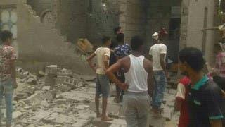 قذائف حوثية تستهدف المنازل في مدينة الحديدة