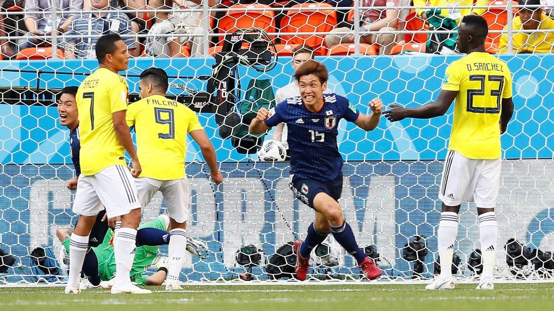 اليابان كولومبيا