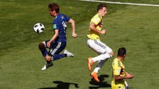10 man Colombia fall to Japan in group H opener in Russia