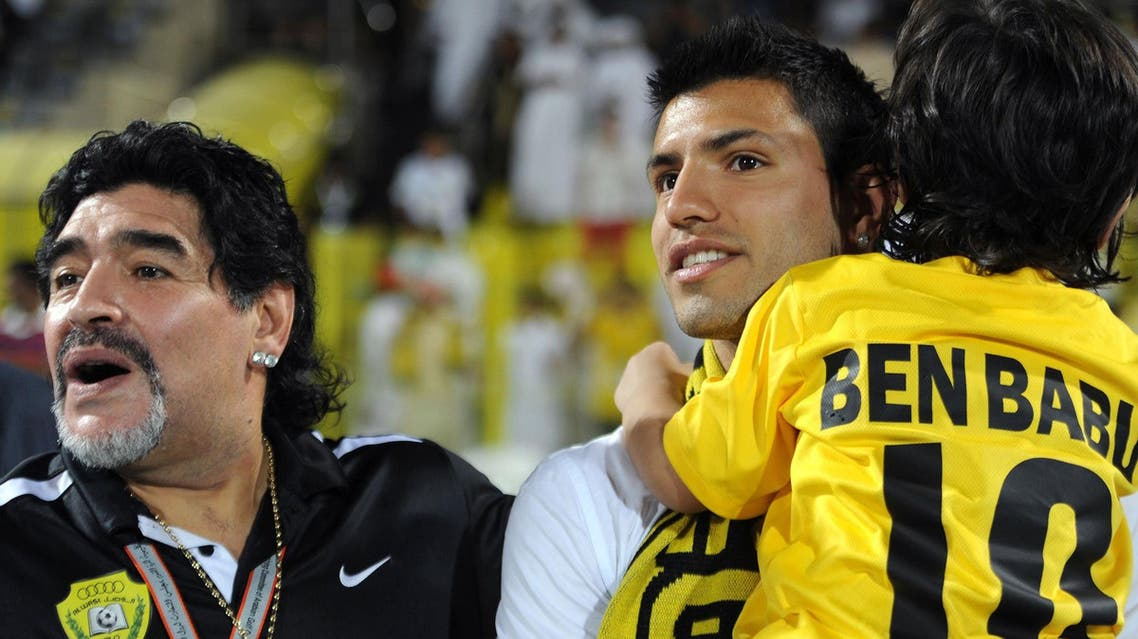 مارادونا و داماد باقش