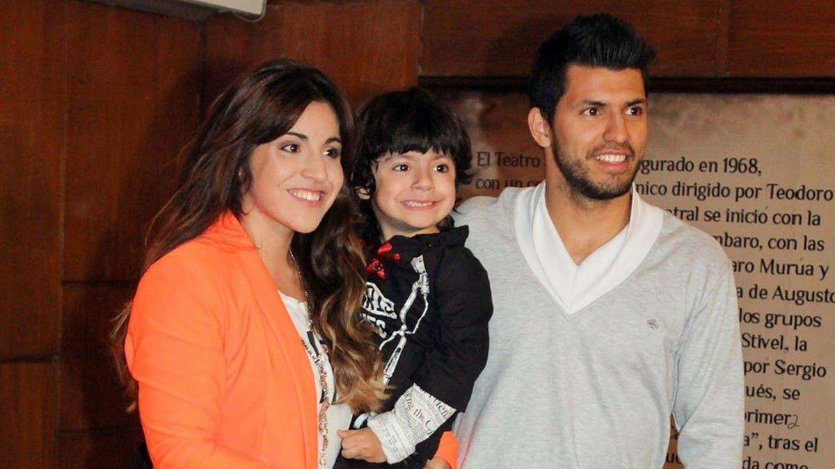 دختر مارادونا، شوهر سابقش و تنها فرزندشان