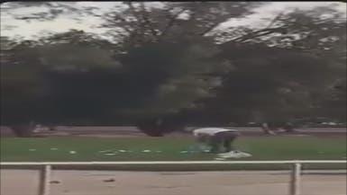 فيديو.. هكذا عاقب أفراد الأمن عائلة بمنتزه شرق السعودية