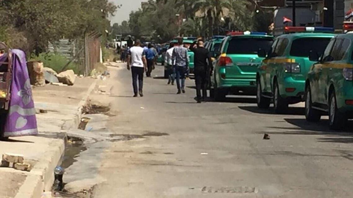 تطويق مقر لكتائب حزب الله شرق بغداد
