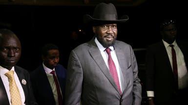 رئيس جنوب السودان يلتقي زعيم المتمردين