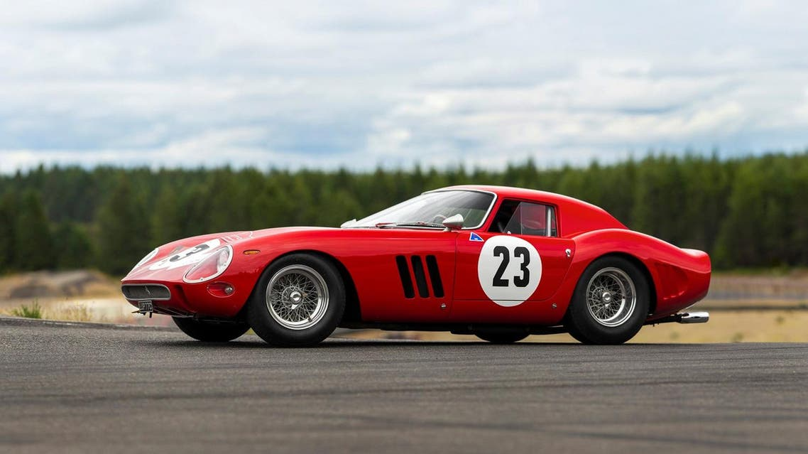 A 1962 Ferrari 250 GTO road racing car is shown in this image released by RM Sotheby's in Blenheim, Ontario, Canada, on June 20, 2018. (Reuters)