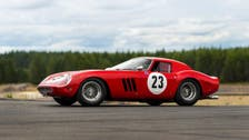 Speeding to auction record? 1962 Ferrari could fetch $45 mln
