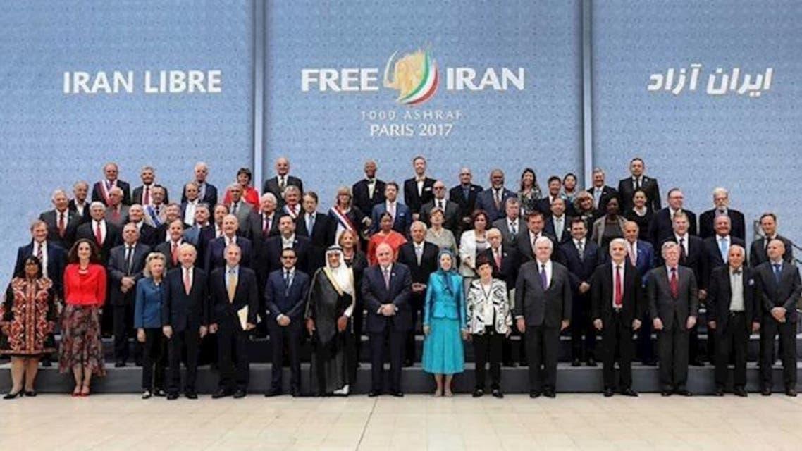المؤتمر السنوي للمقاومة الايرانية باريس 2017