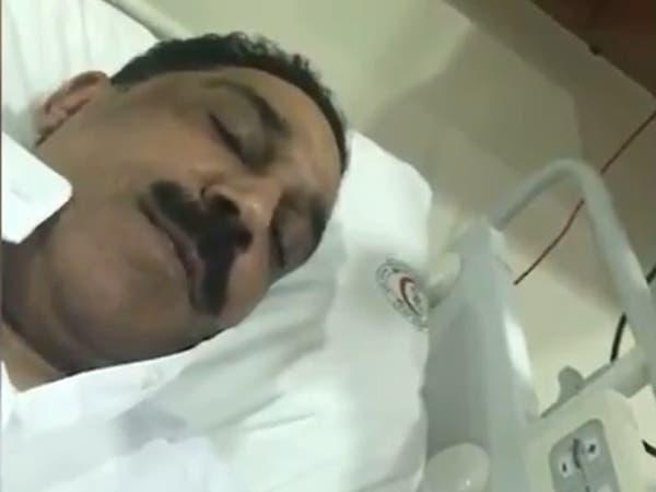الرويشد يطل على جمهوره بفيديو بعد سقوطه على المسرح