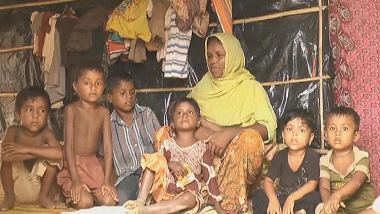 مسلمو الروهينغا في مخيمات بنغلادش