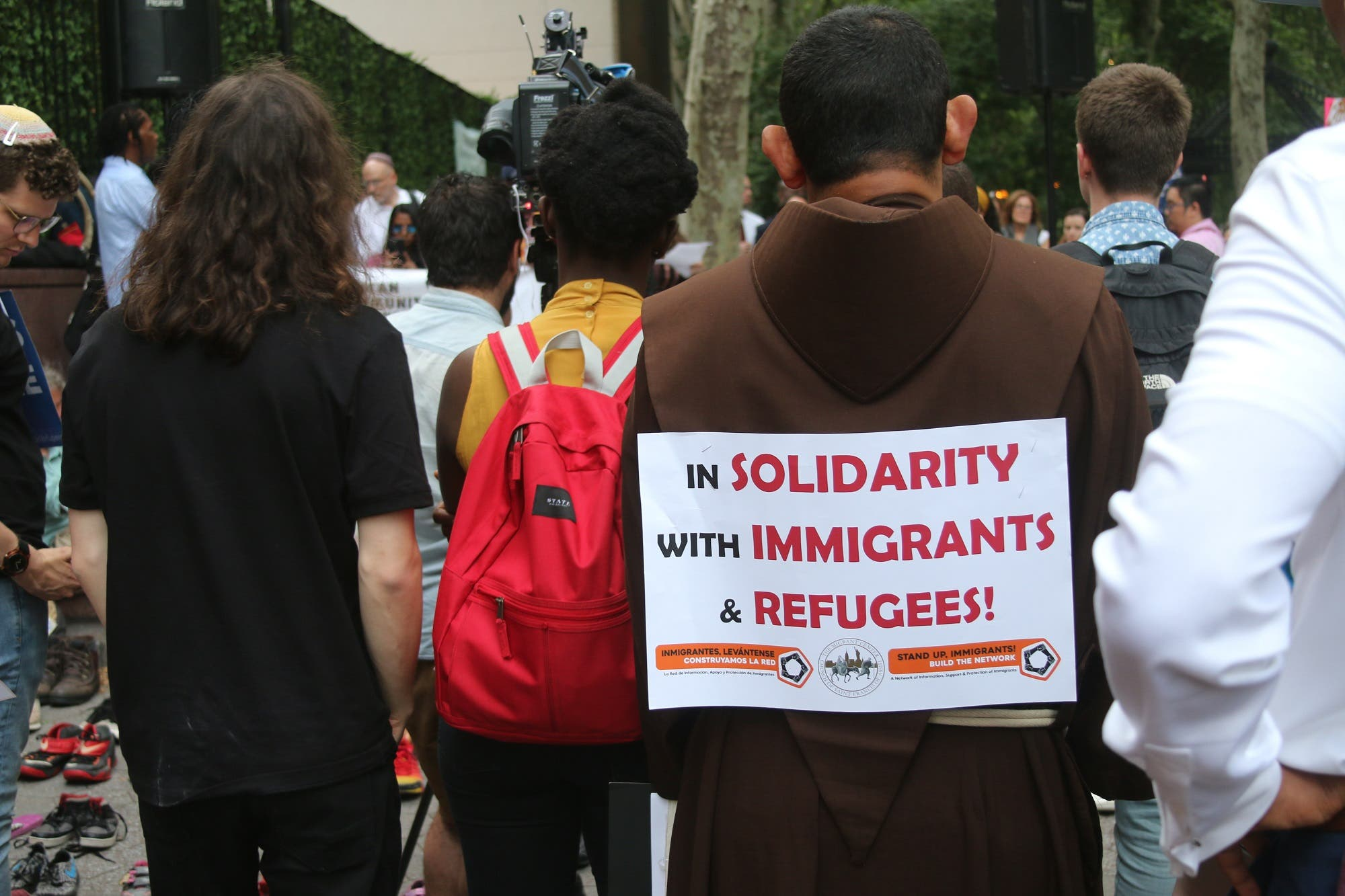 World Refugee Day seemed overshadowed by the immigration crisis taking place at the American-Mexican border. (Supplied)