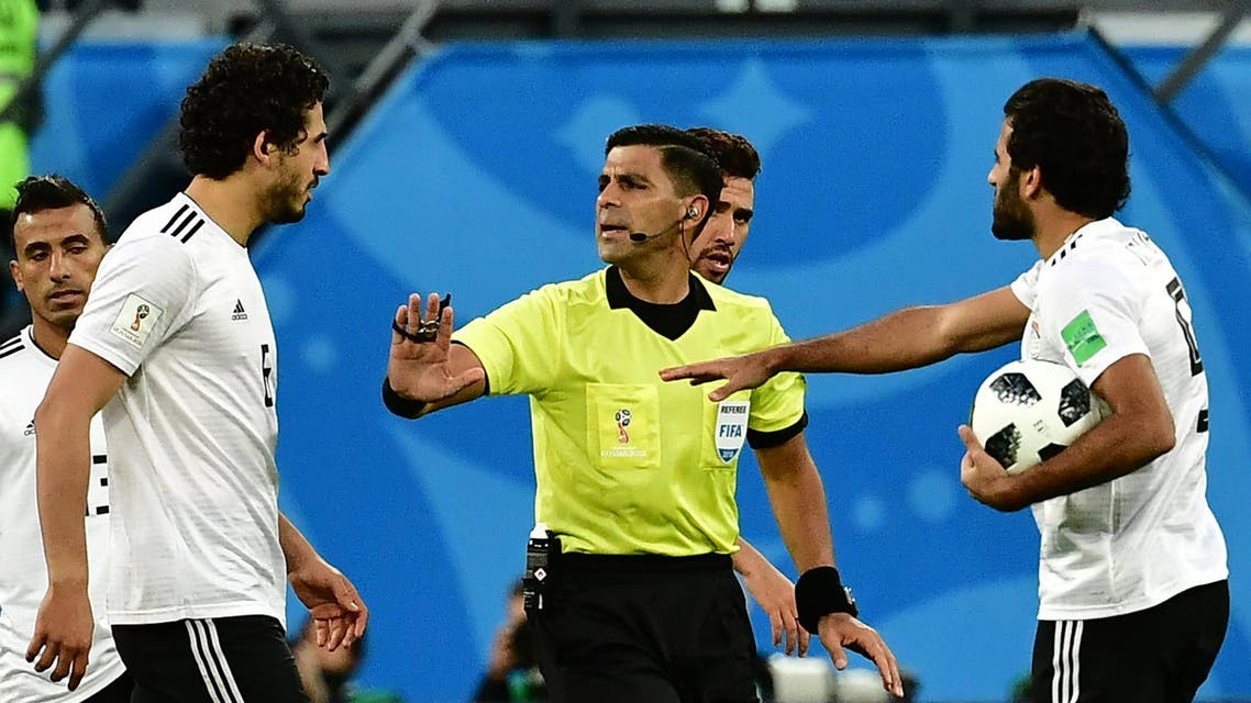 egypt russia paraguay referee (AFP)