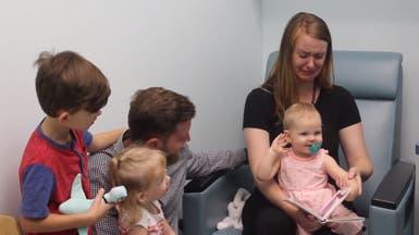 فيديو مذهل.. شاهد ردة فعل طفلة تسمع الكلمات لأول مرة