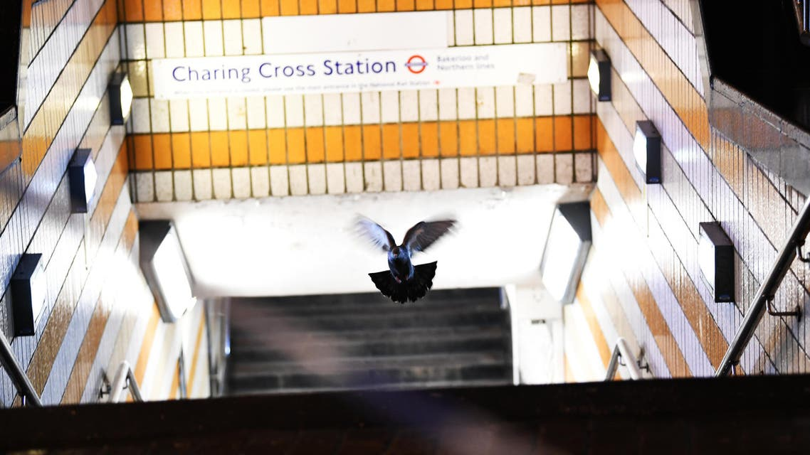 charing cross station england. (Reuters)