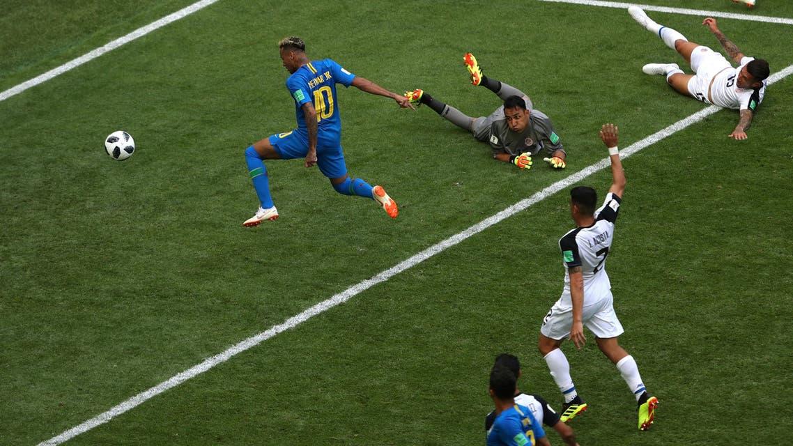 brazil VS costa rica (Reuters)