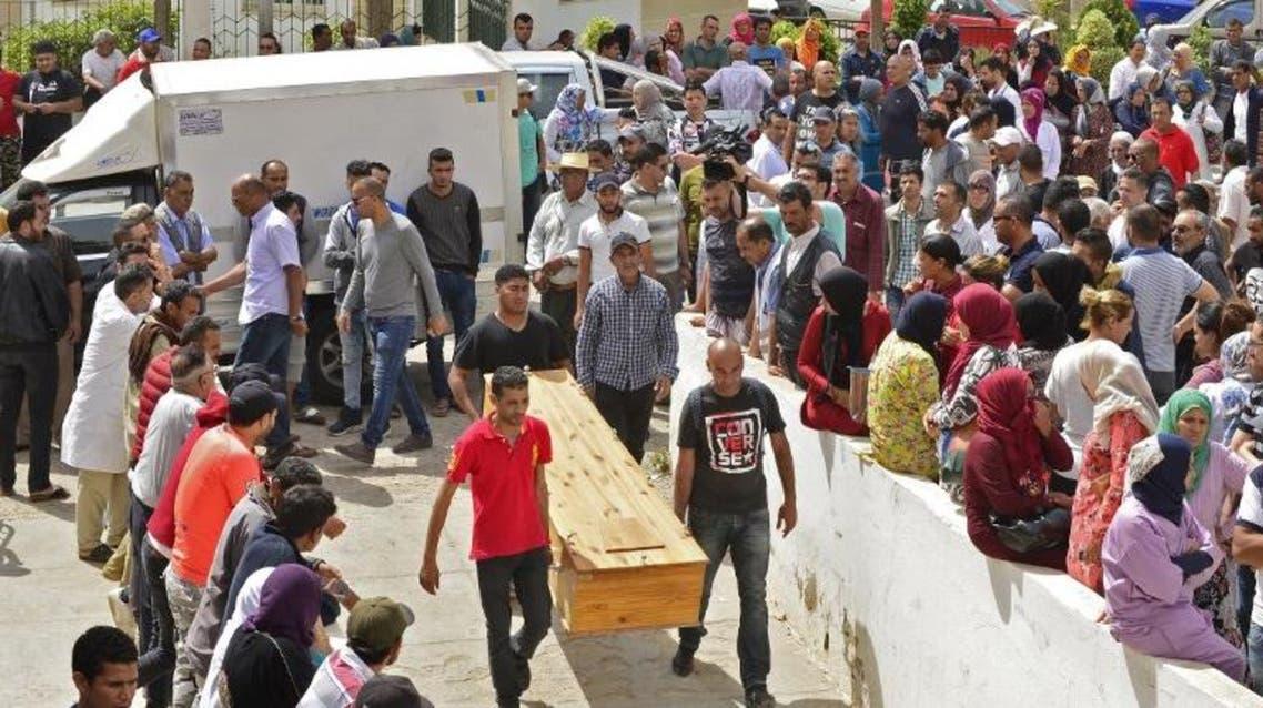 tunisia shipwreck victims (AFP)
