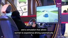 VIDEO: 'Trust in God and Drive' campaigns prepare Saudi women drivers