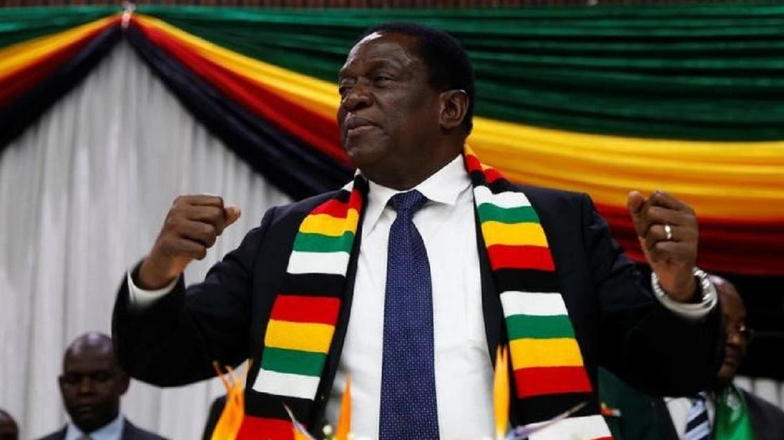 Zimbabwean President Emerson Mnanguagwa announces the date of the general elections in Harare on May 30, 2018. (Reuters)