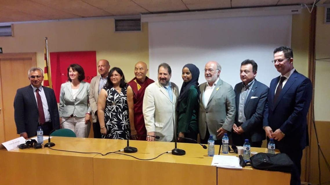 The international meet by Unrepresented Nations and Peoples Organization  in Barcelona. (Supplied)