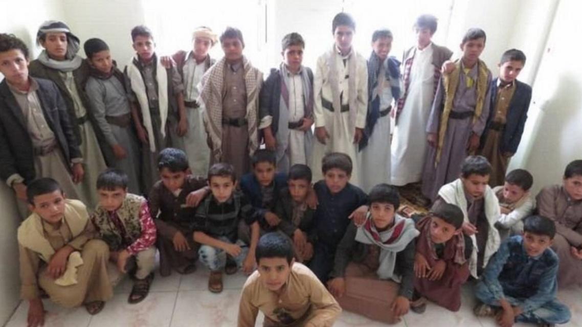 child soldiers yemen (supplied)