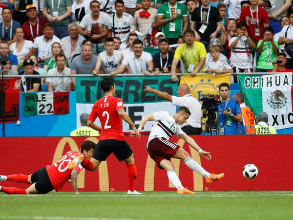 المكسيك تقصي كوريا وتواصل انطلاقتها القوية