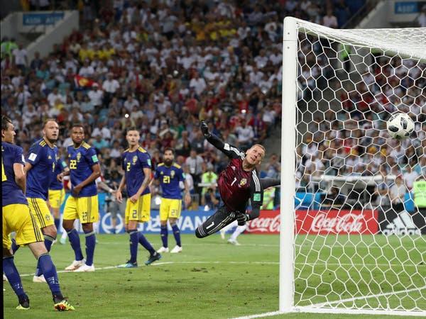 """السويد تتقدم.. و""""المانشافت"""" يرد: المستحيل ليس ألمانياً"""