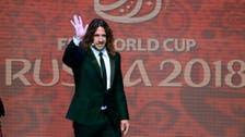 Spanish football star Puyol says Iran barred him from TV program