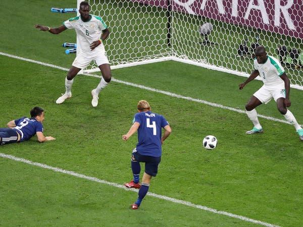 اليابان تتعادل مع السنغال وتعقد حسابات المجموعة الثامنة
