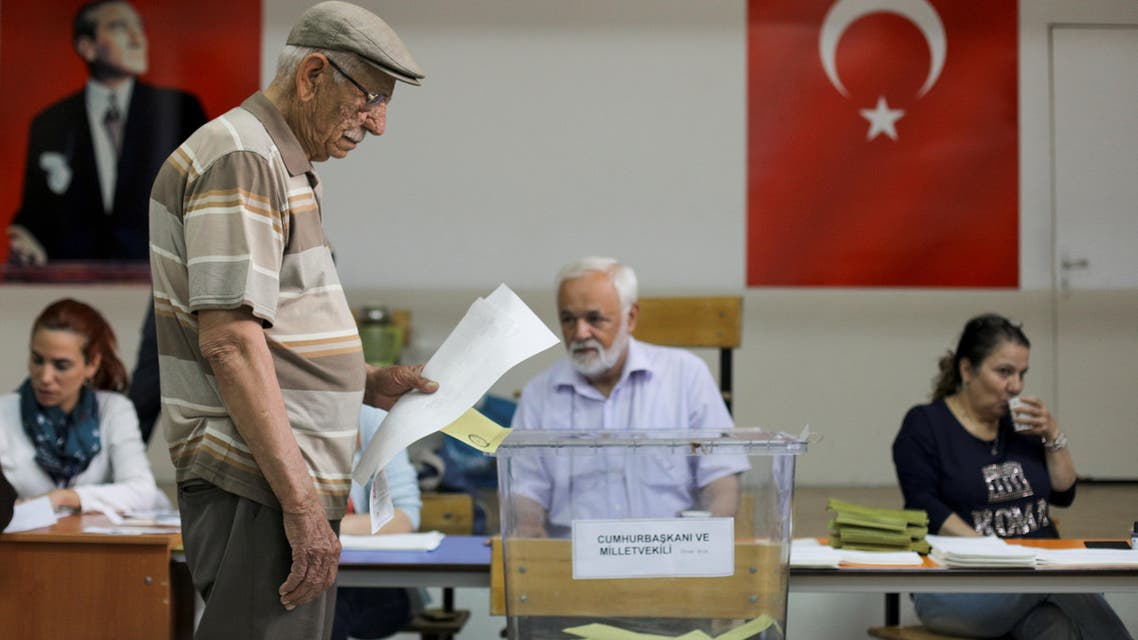 Turkey elections. (Reuters)