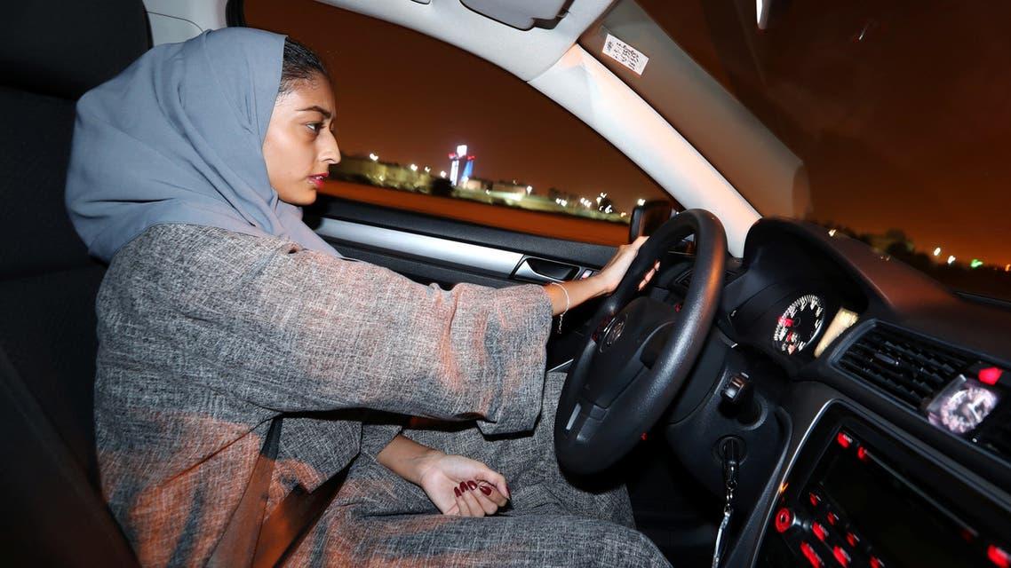 الأمن السعودي الأمور تسير بشكل جيد مع بدء قيادة المرأة