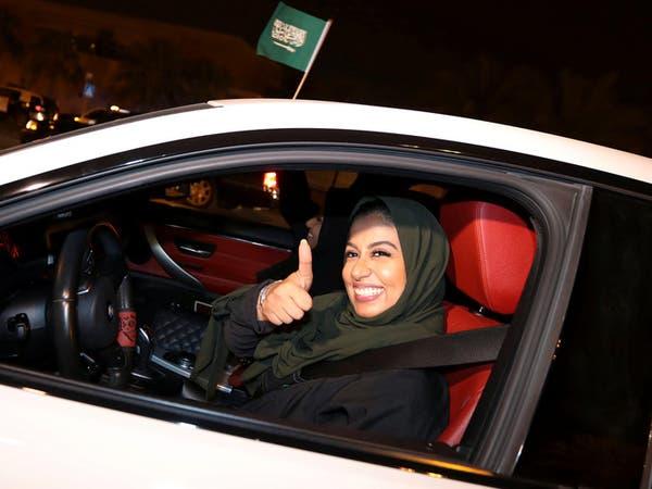 بالصور.. السعوديات ينطلقن بسياراتهن في شوارع المملكة