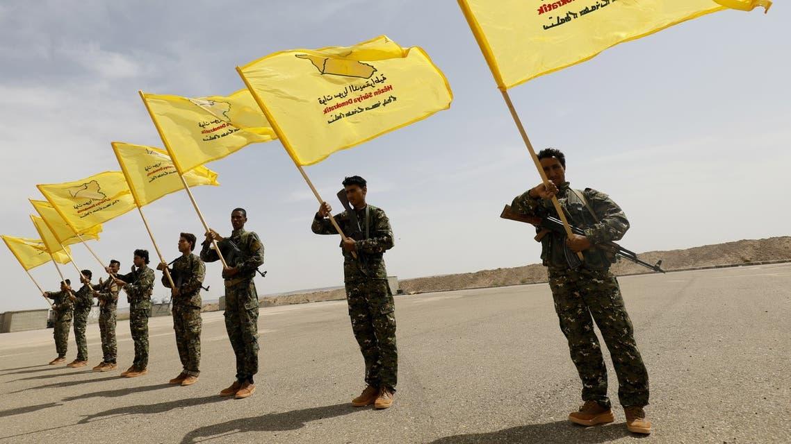 عناصر من قوات سوريا الديموقراطية