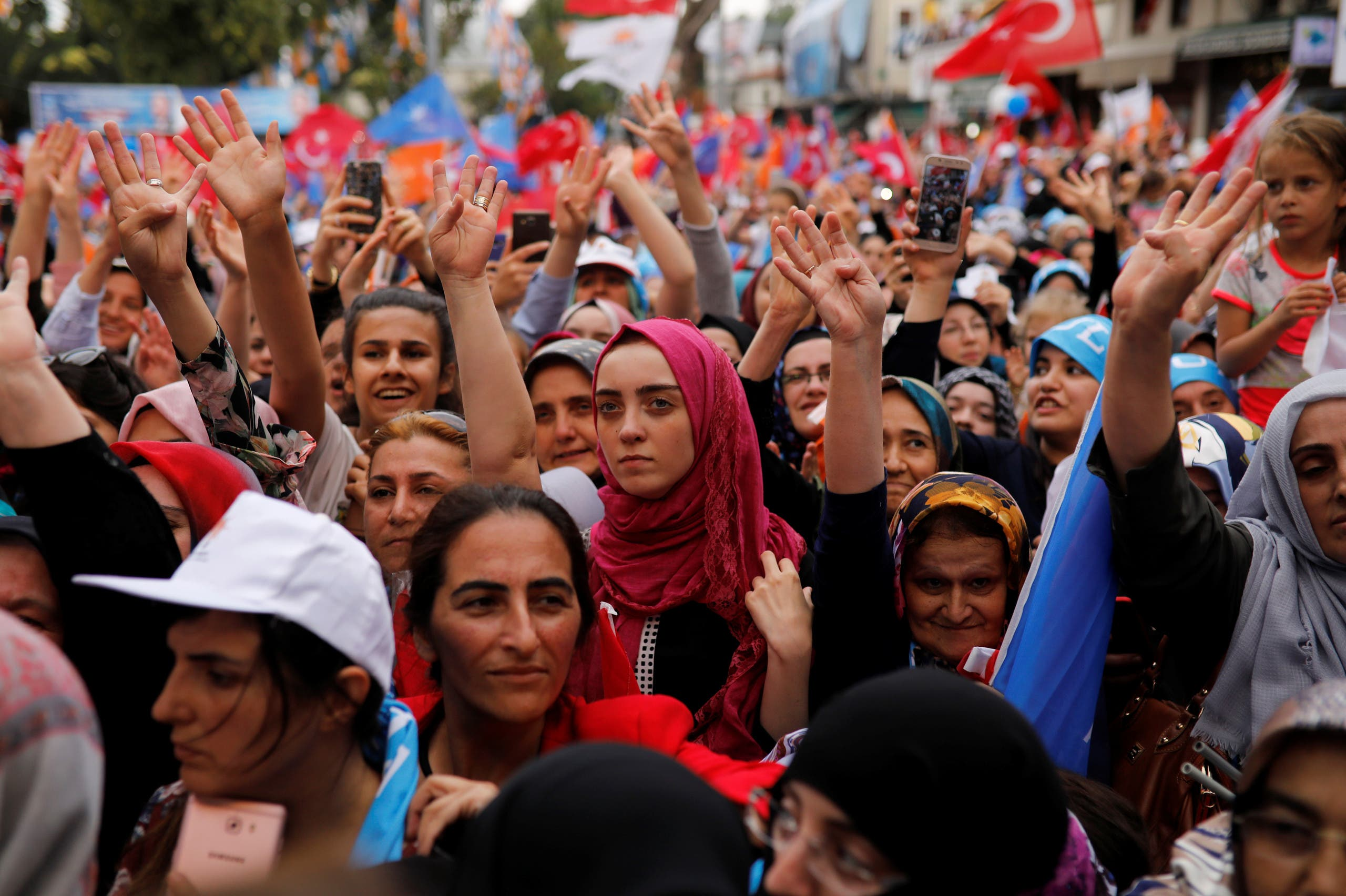 Turkey elections. (Reuters)