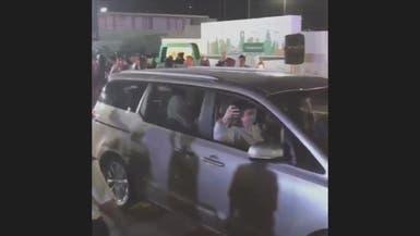 شاهد الزغاريد تزف أولى لحظات قيادة السعوديات للسيارات