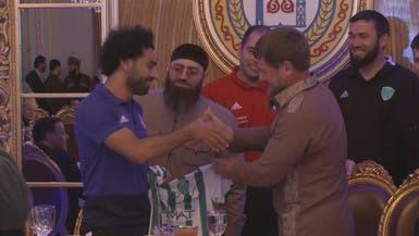 """الرئيس الشيشاني يمنح صلاح """"الوسام الفخري"""""""