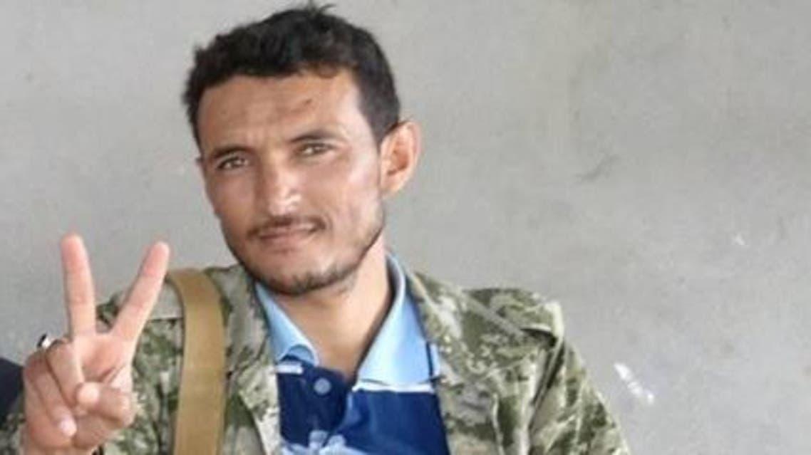 القيادي الحوثي عبدالرزاق النعمي قائد جبهة الميليشيا في حرض