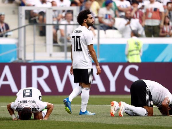 بالصور.. لماذا رفض صلاح الاحتفال بهدفه أمام السعودية؟